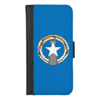 iPhone 7/8 caisse de portefeuille avec le drapeau
