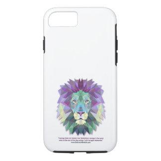 iPhone 7 de courage de lion Coque iPhone 7