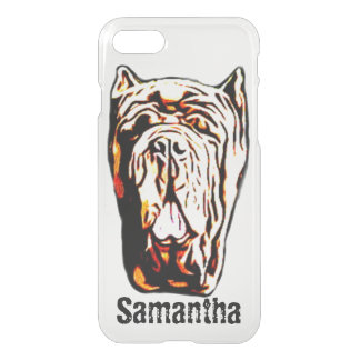 iPhone anglais de chien de mastiff 8/7 cas plus Coque iPhone 7
