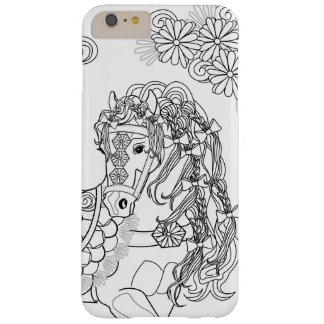 iPhone caracolant 6/6sPlus de cheval de Coque iPhone 6 Plus Barely There