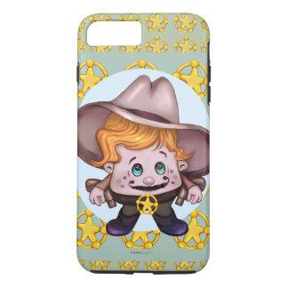 iPhone d'Apple de COWBOY d'ANIMAL FAMILIER 7 DURS Coque iPhone 7 Plus
