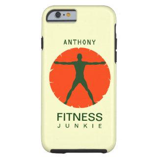 iPhone de drogué de forme physique de santé de Coque iPhone 6 Tough