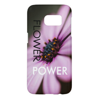 "iPhone de ""flower power"" de concepteur ou Coque Samsung Galaxy S7"