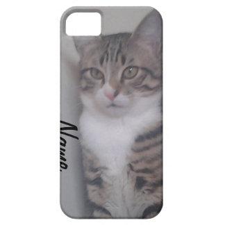 IPhone de l'amoureux des chats et étui de cartes d