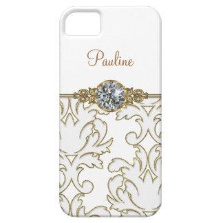 iPhone de monogramme de filles 5 boîtes à bijoux Coques Case-Mate iPhone 5
