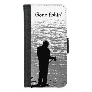 iPhone de pêche allé 8/7 caisse de portefeuille
