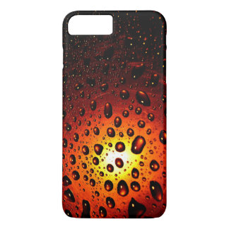 Iphone de waterdrops de coucher du soleil 7 cas coque iPhone 7 plus
