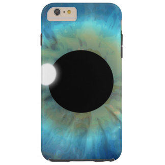 iPhone dur de globe oculaire d'oeil bleu Coque iPhone 6 Plus Tough