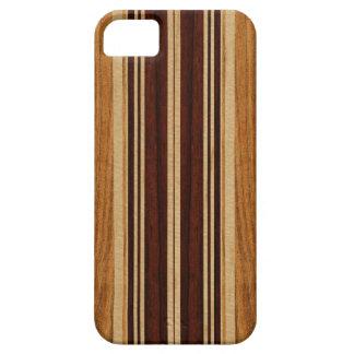 iPhone en bois de planche de surf de Koa de Faux Étuis iPhone 5