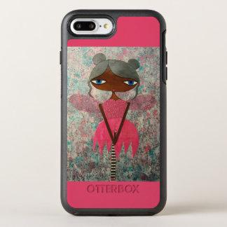 """iPhone féerique 7 OtterBox plus """"d'amour magenta"""" Coque Otterbox Symmetry Pour iPhone 7 Plus"""