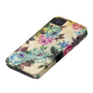 iPhone floral antique 4 de Coque-Compagnon Coques Case-Mate iPhone 4