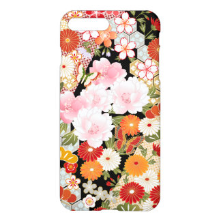 iPhone intuitif japonais 7 de motif de fleur de Coque iPhone 7 Plus