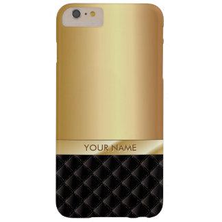 iPhone nommé fait sur commande 6/6S d'or de luxe Coque iPhone 6 Plus Barely There