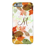 iPhone orange Girly 6 C de feuille d'automne de Coque iPhone 6 Barely There
