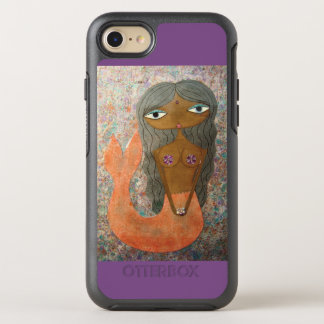 """iPhone pourpre 7 OtterBox de """"sirène"""" ! Coque Otterbox Symmetry Pour iPhone 7"""