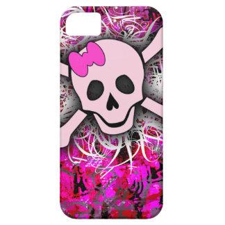 iPhone rose 5 de crâne Coque Case-Mate iPhone 5