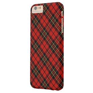 iPhone rouge classique 6/6S de tartan plus à peine Coque Barely There iPhone 6 Plus