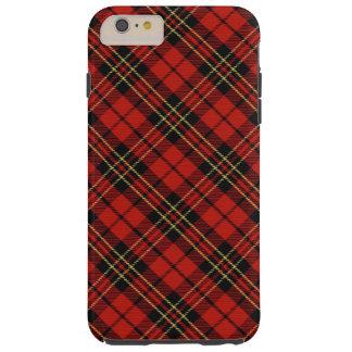 iPhone rouge classique 6/6S de tartan plus le cas Coque Tough iPhone 6 Plus