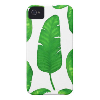 iPhone tropical 4 de palmettes de banane Coque iPhone 4