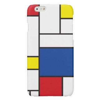 iPhoneCase minimaliste d'art moderne de Mondrian