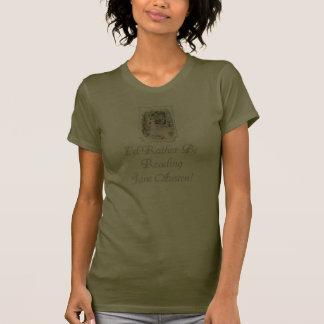 IRBR Jane Austen petit T foncé, S-2XL, 5 couleurs T-shirts