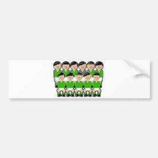 Ireland soccer team ai adhésif pour voiture