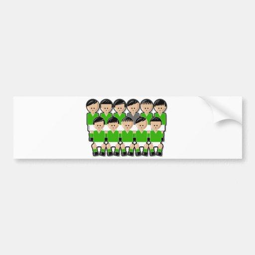 Ireland soccer team.ai adhésif pour voiture