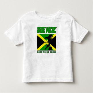 IRIE KIDZ Rasta et T-shirt jamaïcain d'enfant en