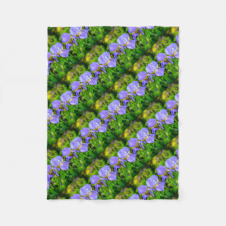 Iris barbu couverture polaire