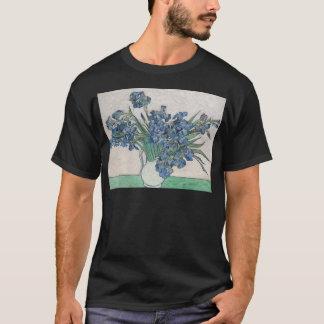 Iris dans un vase t-shirt