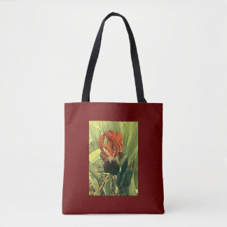 Iris de rouge riche sac
