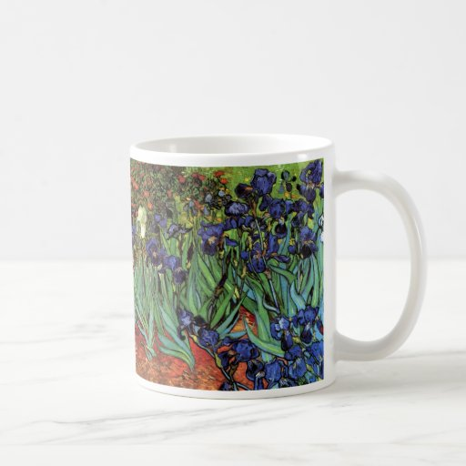 Iris de Van Gogh, art vintage de post impressionni Tasses À Café