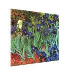 Iris de Van Gogh, art vintage de post impressionni Toiles Tendues Sur Châssis