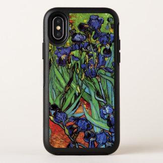 Iris de Van Gogh, beaux-arts vintages de jardin