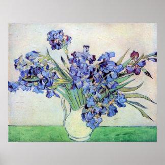 Iris de Vincent van Gogh dans le post Poster