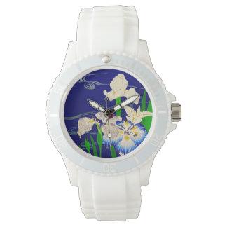 Iris japonais montres bracelet