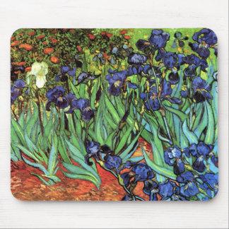 Iris par des beaux-arts de Van Gogh Tapis De Souris