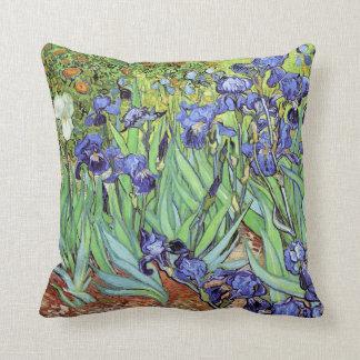 Iris par Vincent van Gogh Coussin