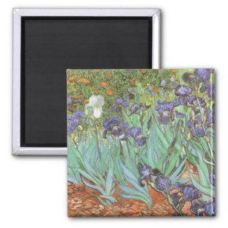 Iris par Vincent van Gogh fleurs vintages de Magnets Pour Réfrigérateur