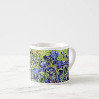 Iris par Vincent van Gogh Tasse Expresso