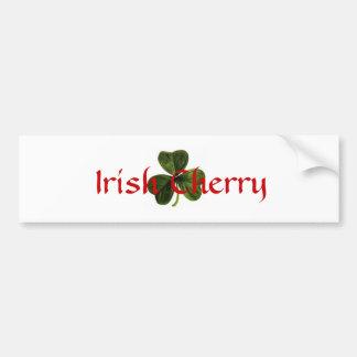 Irish_clover, cerise irlandaise autocollant de voiture