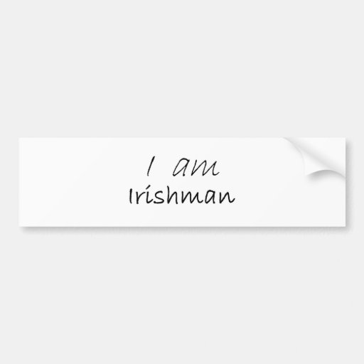 Irishman.jpg Autocollant Pour Voiture