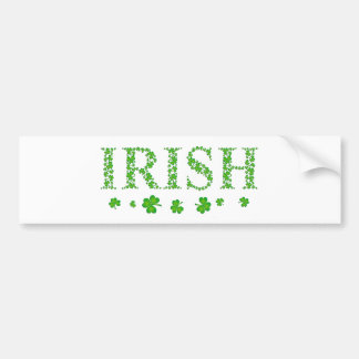 Irlandais Autocollant Pour Voiture