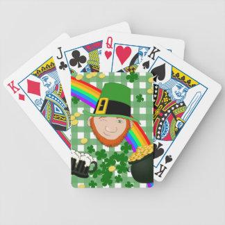 Irlandais chanceux cartes à jouer