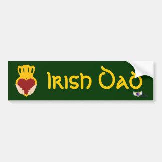 Irlandais DadSt. Autocollant-Cust de pare-chocs du Adhésifs Pour Voiture