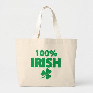 Irlandais de 100% grand sac