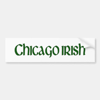 Irlandais de Chicago Autocollant Pour Voiture