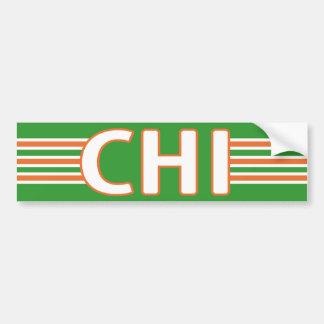 Irlandais de Chicago Adhésif Pour Voiture