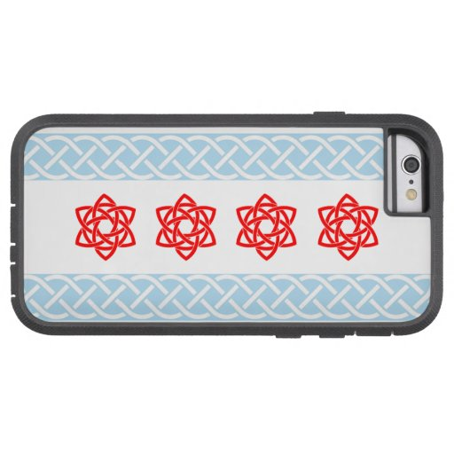 Irlandais de drapeau de Chicago de Celtic Coque iPhone 6 Tough Xtreme