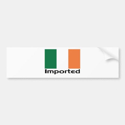 Irlandais importé autocollants pour voiture